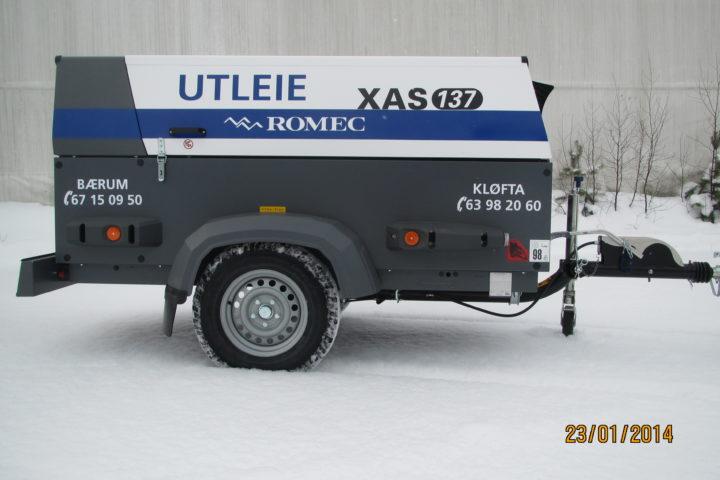 XAS 137 Kompressor